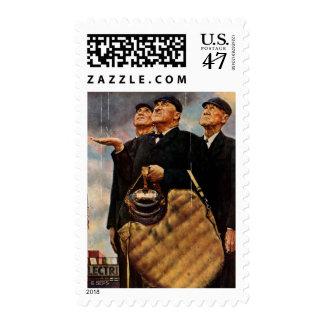 Three Umpires Postage