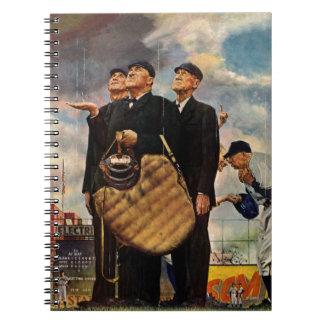Three Umpires Spiral Notebook