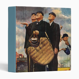 Three Umpires Vinyl Binder