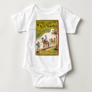 Three Vassar Girls in the Holyland Baby Bodysuit