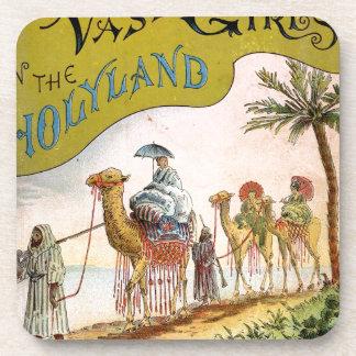 Three Vassar Girls in the Holyland Drink Coaster