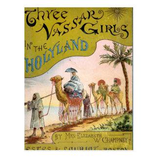 Three Vassar Girls in the Holyland Postcard