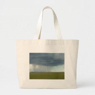 Three Veils of Rain Jumbo Tote Bag