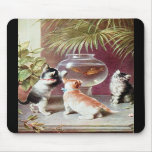 Three Victorian Kittens Mouse Pads