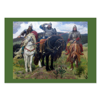 Three Viking Scouts Business Card