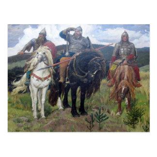 Three Viking Scouts Postcard
