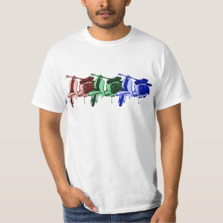 Three vintage Sixties Scooters Shirt