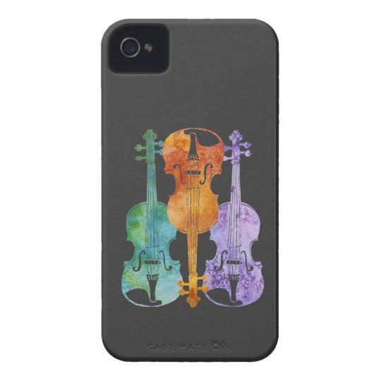 Three Violins iPhone 4 Cover