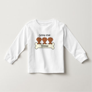 Three Vizslas Toddler T-shirt