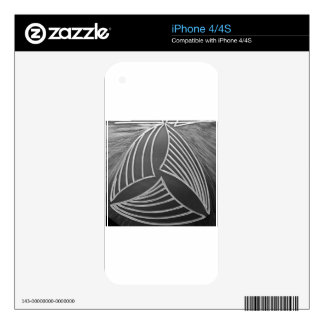 Three ways skins for iPhone 4