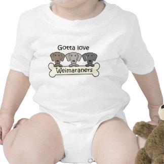 Three Weimaraners T Shirt