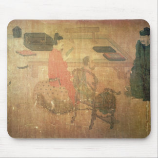 Three Well-Read Men from Lieou-Li T'ang Mouse Pad