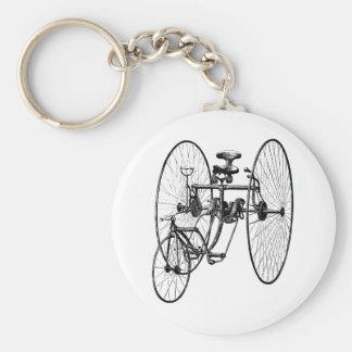 Three Wheel Bicycle Tricycle Keychain
