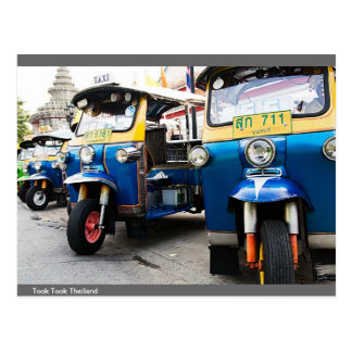 Three wheel in thailand postcard
