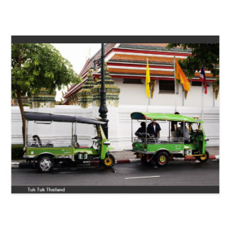 Three wheel in thailand postcard