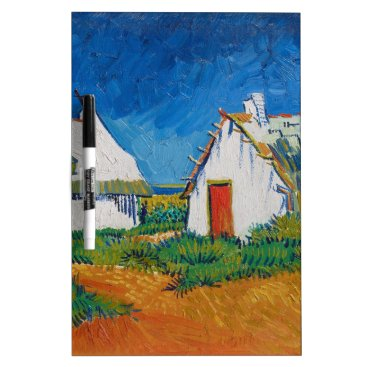 Three White Cottages in Saintes-Maries by Vincent Dry Erase Board