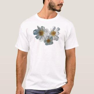 Three White Peonies Mens T-Shirt