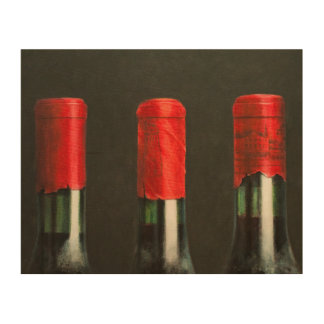 Three Wines 2010 Wood Print