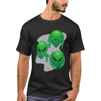 Three Wise Aliens T-Shirt