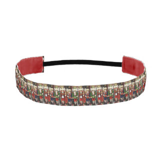 Three Wise Crackers - Nutcracker Soldiers Athletic Headband
