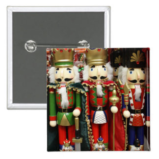 Three Wise Crackers - Nutcracker Soldiers Pinback Buttons