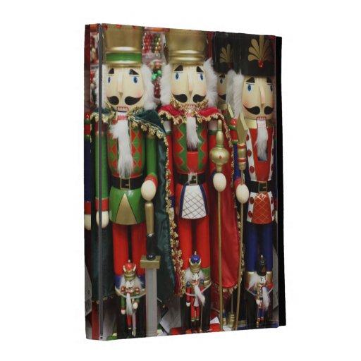 Three Wise Crackers - Nutcracker Soldiers iPad Folio Covers
