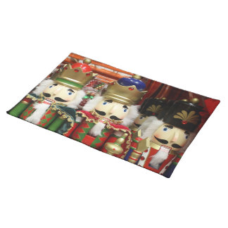 Three Wise Crackers - Nutcracker Soldiers Cloth Placemat