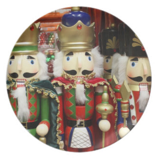 Three Wise Crackers - Nutcracker Soldiers Dinner Plate