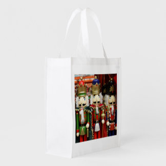 Three Wise Crackers - Nutcracker Soldiers Grocery Bag