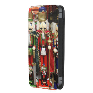 Three Wise Crackers - Nutcracker Soldiers iPhone 5 Pouch