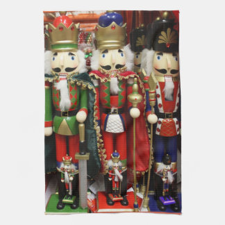 Three Wise Crackers - Nutcracker Soldiers Towels