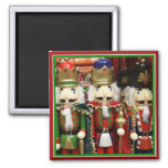 Three Wise Crackers - Nutcracker Soldiers Refrigerator Magnet