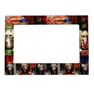 Three Wise Crackers - Nutcracker Soldiers Photo Frame Magnets