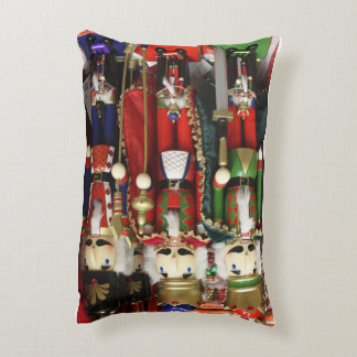 Three Wise Crackers - Nutcracker Soldiers Accent Pillow