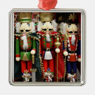 Three Wise Crackers - Nutcracker Soldiers Metal Ornament