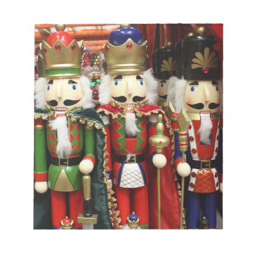 Three Wise Crackers - Nutcracker Soldiers Note Pads