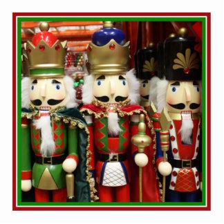 Three Wise Crackers - Nutcracker Soldiers Photo Sculpture