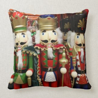 Three Wise Crackers - Nutcracker Soldiers Pillows