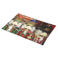 Three Wise Crackers - Nutcracker Soldiers Place Mat