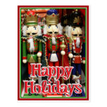 Three Wise Crackers - Nutcracker Soldiers Postcards