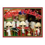 Three Wise Crackers - Nutcracker Soldiers Postcard