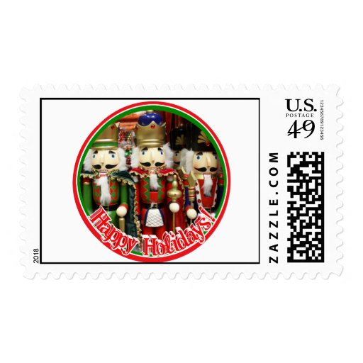 Three Wise Crackers - Nutcracker Soldiers Stamp