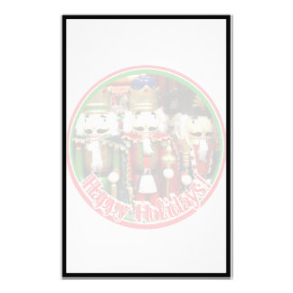 Three Wise Crackers - Nutcracker Soldiers Custom Stationery