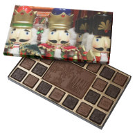 Three Wise Crackers - Nutcracker Soldiers 45 Piece Box Of Chocolates