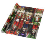 Three Wise Crackers - Nutcracker Soldiers Gift Wrapping Paper