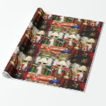 Three Wise Crackers - Nutcracker Soldiers Gift Wrap