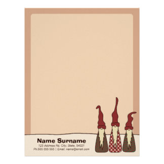 Three Wise Elves, letterhead