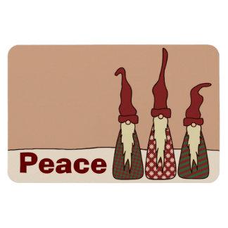 Three Wise Elves, premium photo magnet Vinyl Magnets