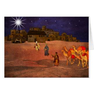 Three Wise Kings Card