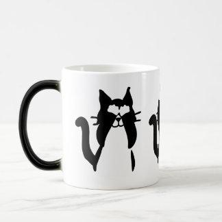 Three Wise Kitties 11 Oz Magic Color-changing Mug
